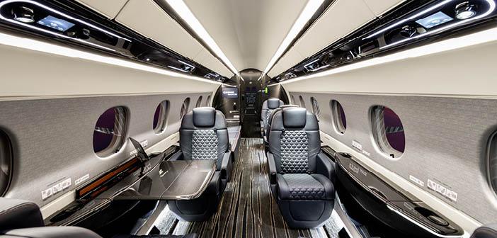 custom Executive airplane interior West Palm Beach, FL